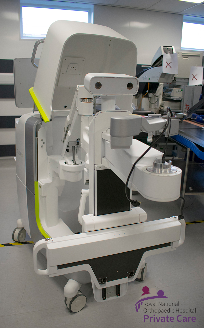 Mazor X Stealth Edition (MXSE) Robotic Assisted Spinal Surgery technology at the RNOH