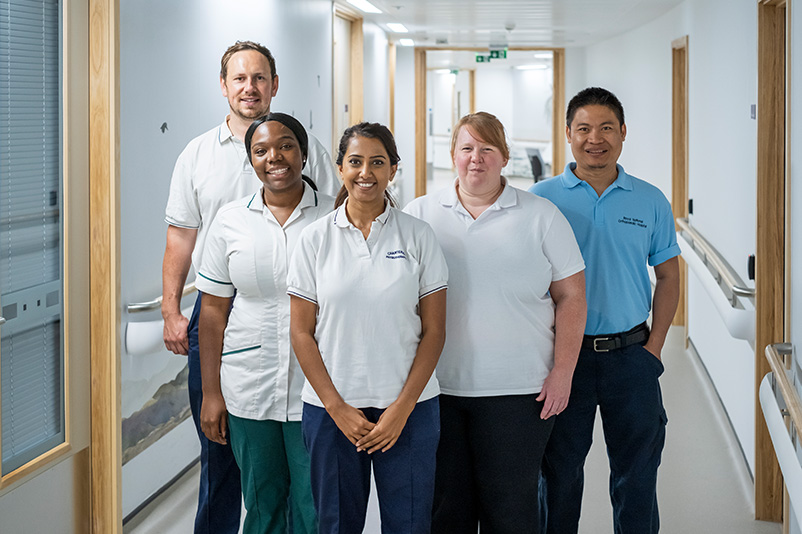 RNOH PC Transitional Therapy - Our team